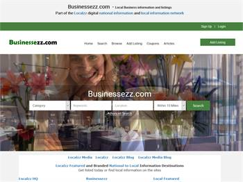 Businessezz.com  - Local Business information and listings