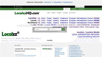 Localzz HQ - Directory, Classifieds, Employment Part of the Localzz digital national information an