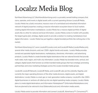 Localzz Media Blog